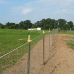 Install Field Fence