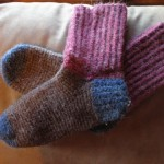 Crochet Alpaca Socks