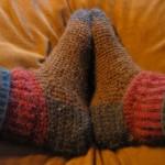 Crochet Alpaca Socks