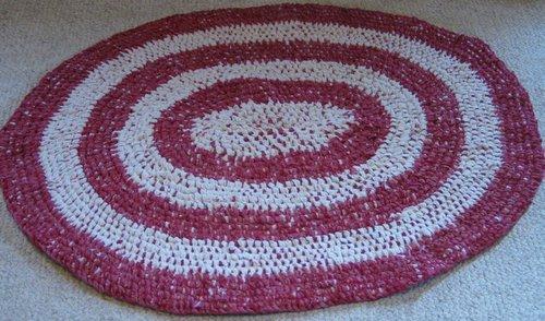oval rag rug - Christmas Rugs Large